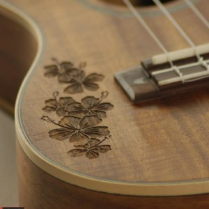 Engraving Ukuleles Custom Wood Engraving