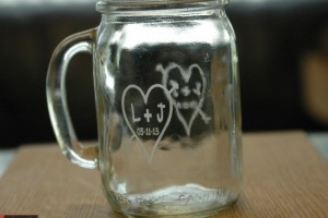 Engraved Glasses & Glass Bottles