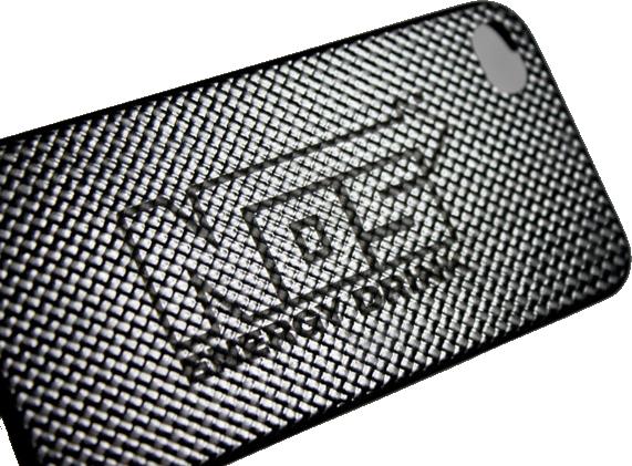 Carbon Fiber Engraved Phone Case Laser Engraving Pros