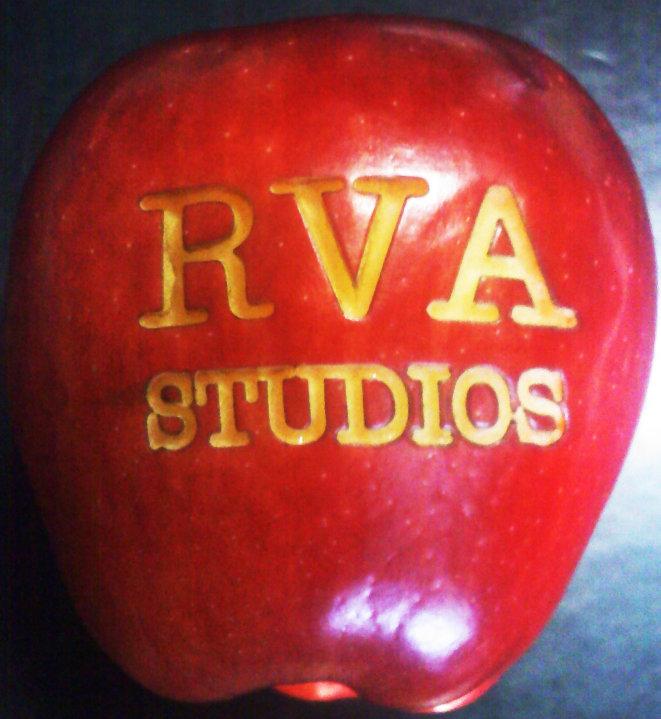 Laser Engraving Fruit Apple