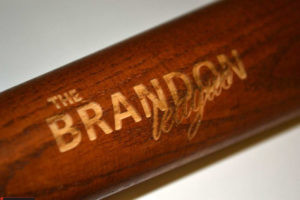 engraved baseball bats