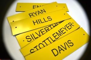 Custom Engraved Nameplates Richmond VA