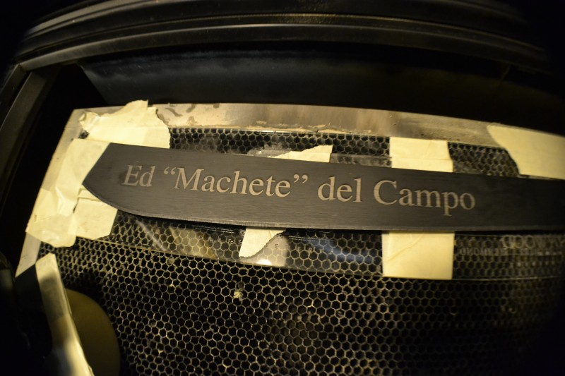Laser Engraving Machete