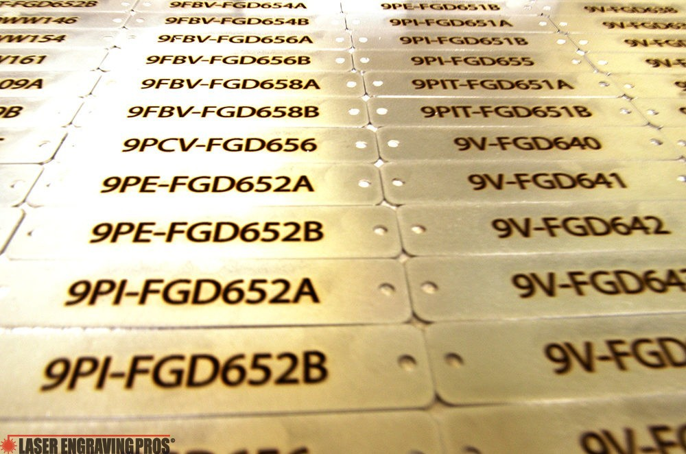 Engraved Aluminum Tags