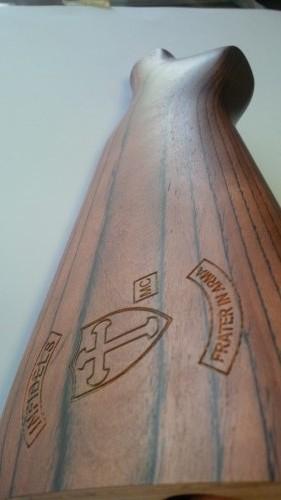 Custom Engraved Shotgun Stock