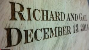 Custom Engraved Wood