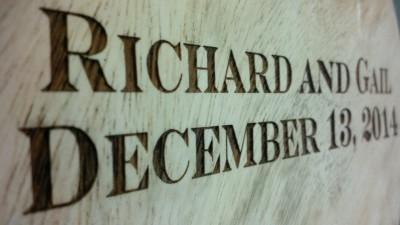 Laser Engraved Wood Richmond Virginia