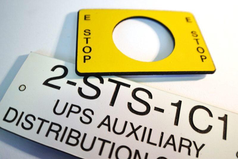 Plastic Engraved Plate Engraving Plastic Tags Custom