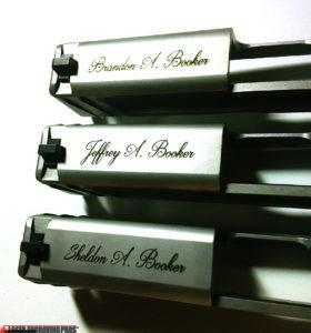 Engraved 9mm Handguns
