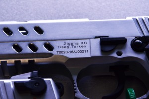 Engraving Serialized Handguns & Firearms