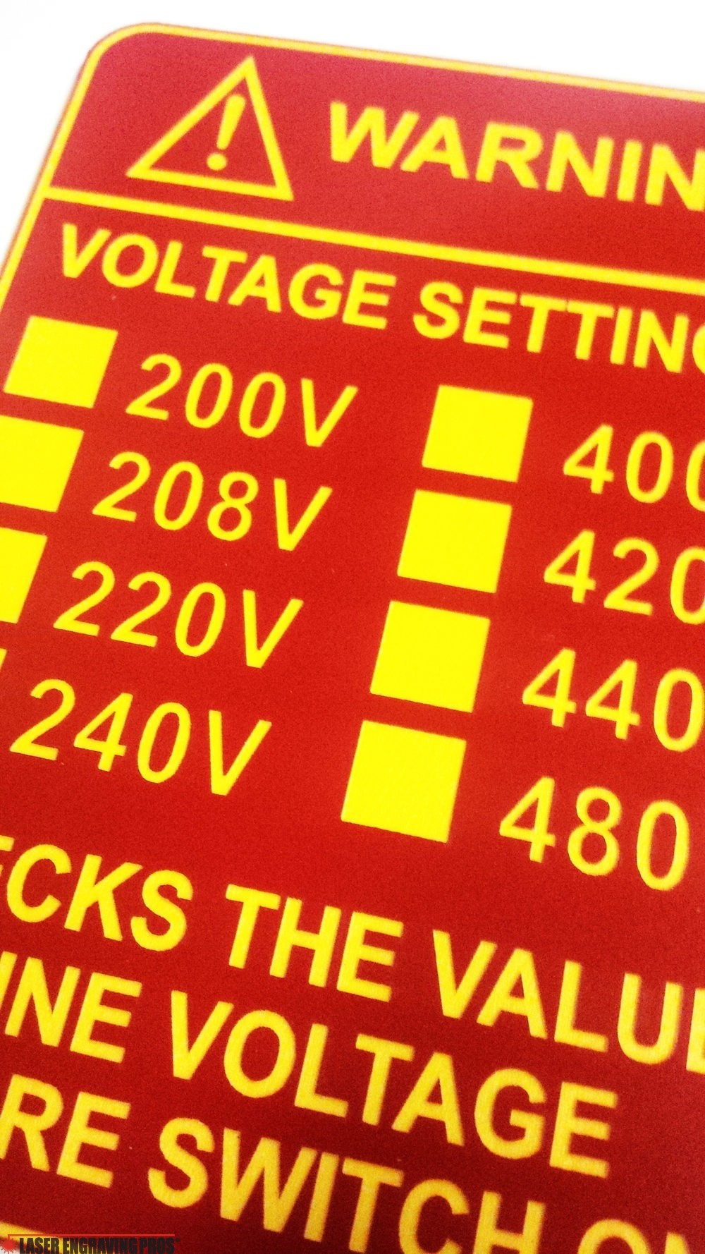 Engraved Plastic Plate  sc 1 th 300 & We Make Plastic Tags! - Custom Tags Phenolic Tags Plastic Engraved Tags