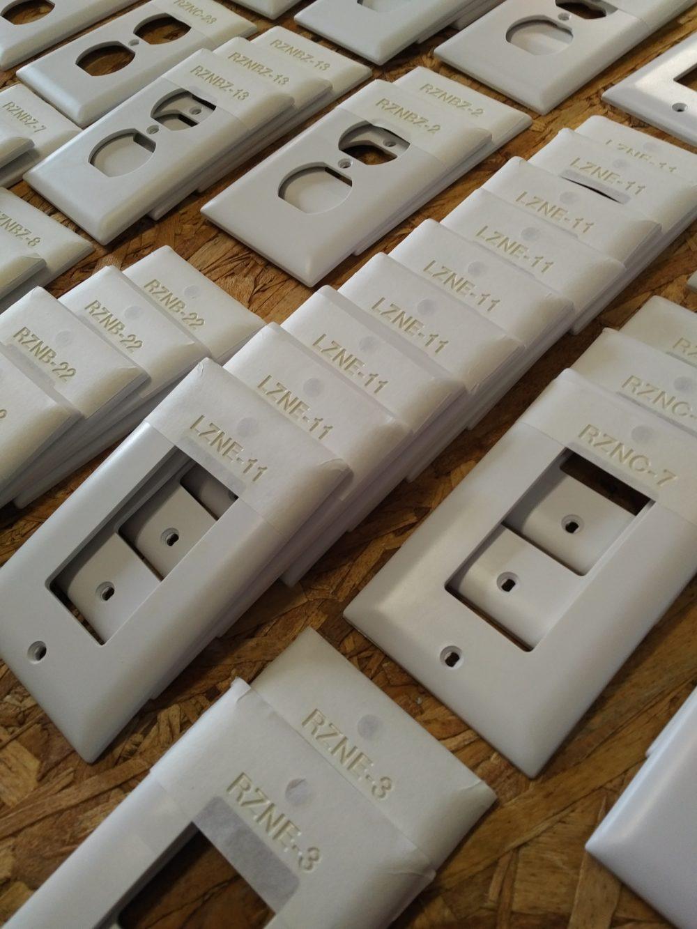 Engraving Plastic Switch Plates Laser Engraving Pros
