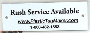 Custom Engraving Tags