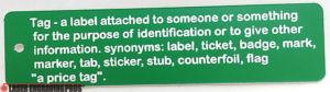 Plastic Namebadges