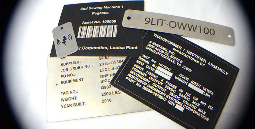 Customised Data Plates