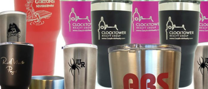 custom engraved yeti cups tumblers laser engraving pros