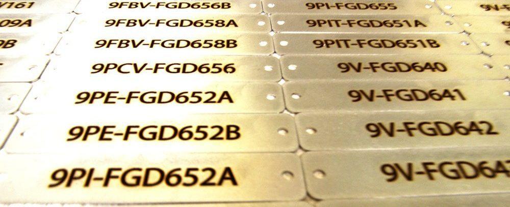 Custom Metal Tags