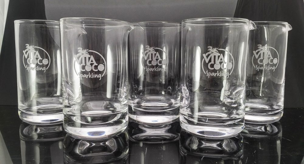 Custom Glasses glassware laser engraving pros pint glasses