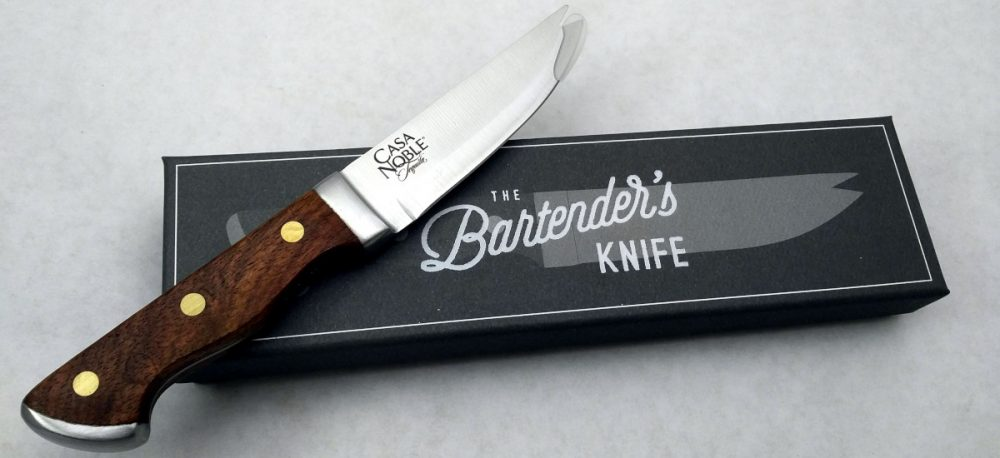 Engraved Bartender's Knife